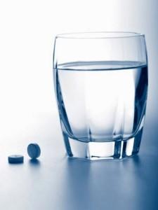 Препарат лучше всего запивать водой