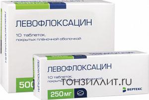 Популярный фторхинолон - левофлоксацин