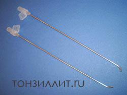 Промывание лакун миндалин при хроническом тонзиллите