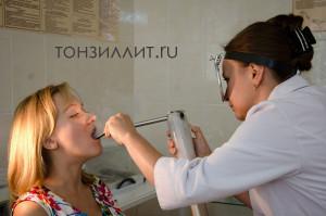 Криолечение миндалин