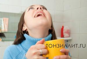 Полоскания при хроническом тонзиллите