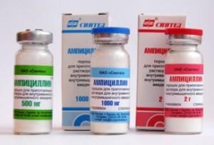 Противопоказания Ампициллина