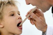 Лечение гнойной ангины у детей