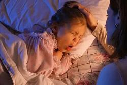Фото 2. Сильный кашель у ребенка