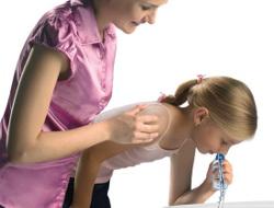 Фото 4. Промывания носа ребенку