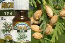 Лечение аденоидов с помощью масла туи