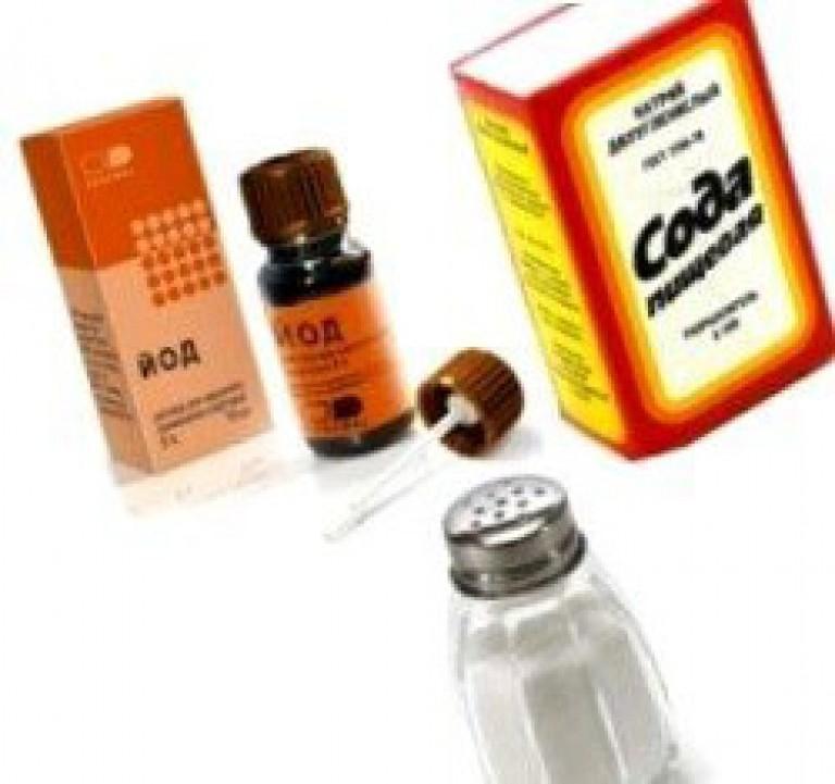 Сода соль йод от горла при беременности