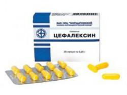 аналоги цефалексин для детей
