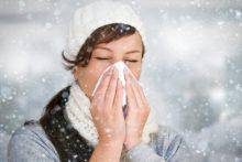 Причины и лечение аллергического насморка на холод