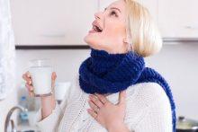 Что делать, если болит горло и насморк при беременности