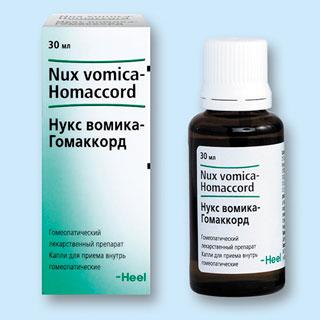 препарат нукс-вомика