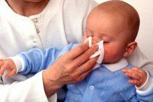 Физиологический насморк новорожденных